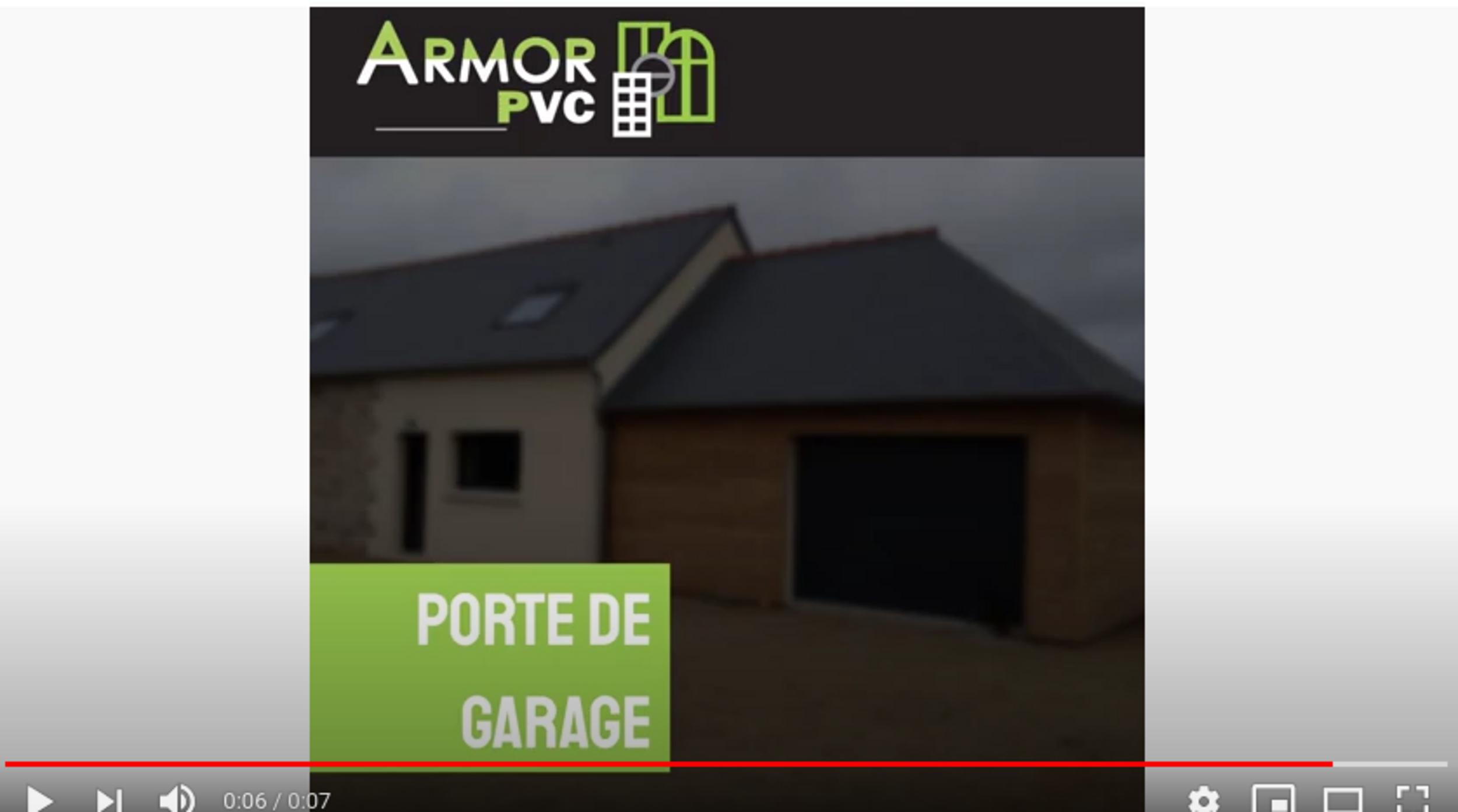 Armor PVC Porte de Garage