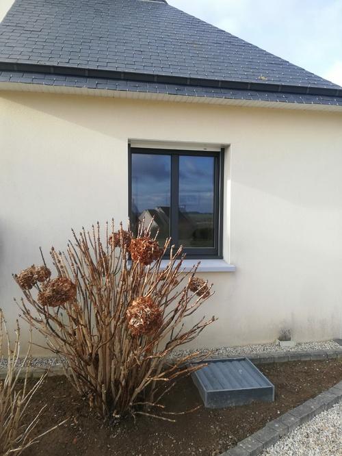 Fenêtre fibre - noir sablé - Pontivy