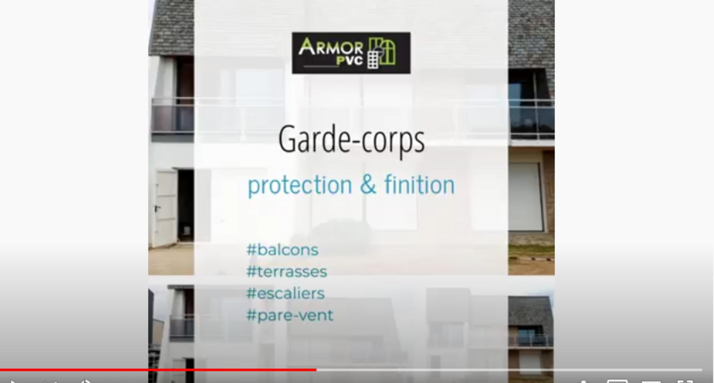 Garde corps pour balcons, terrasses et escaliers