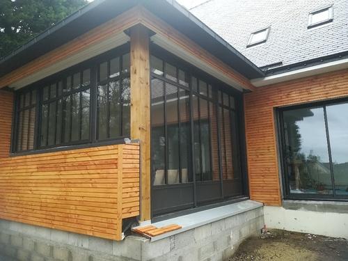 Installation de baies vitrées et fenêtres - Morbihan (56)