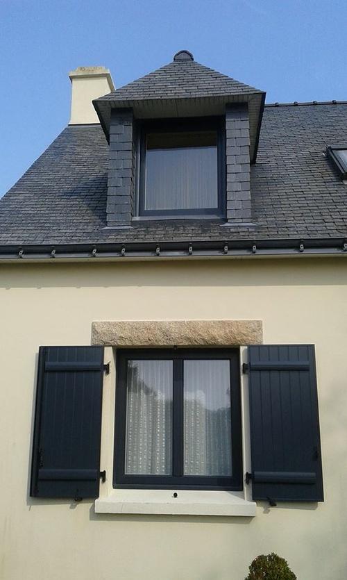 Installation de fenêtres et volets - Kervignac (56)