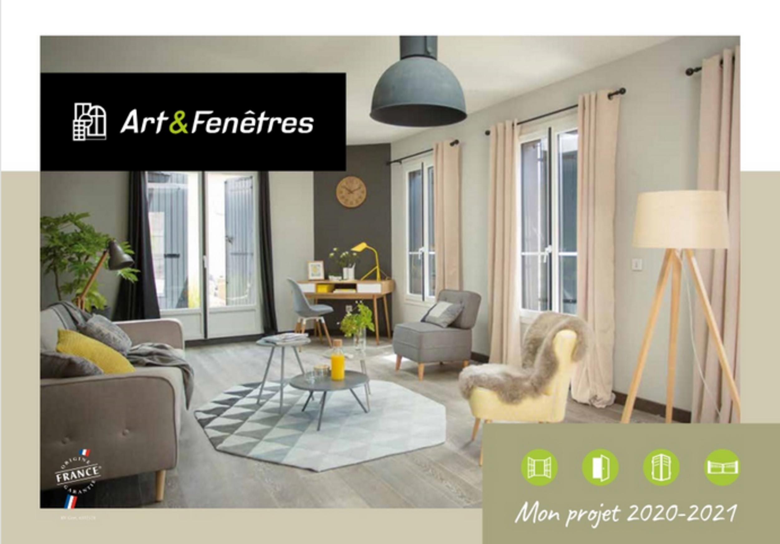 Nouveau catalogue Art & Fenêtres 2020/21