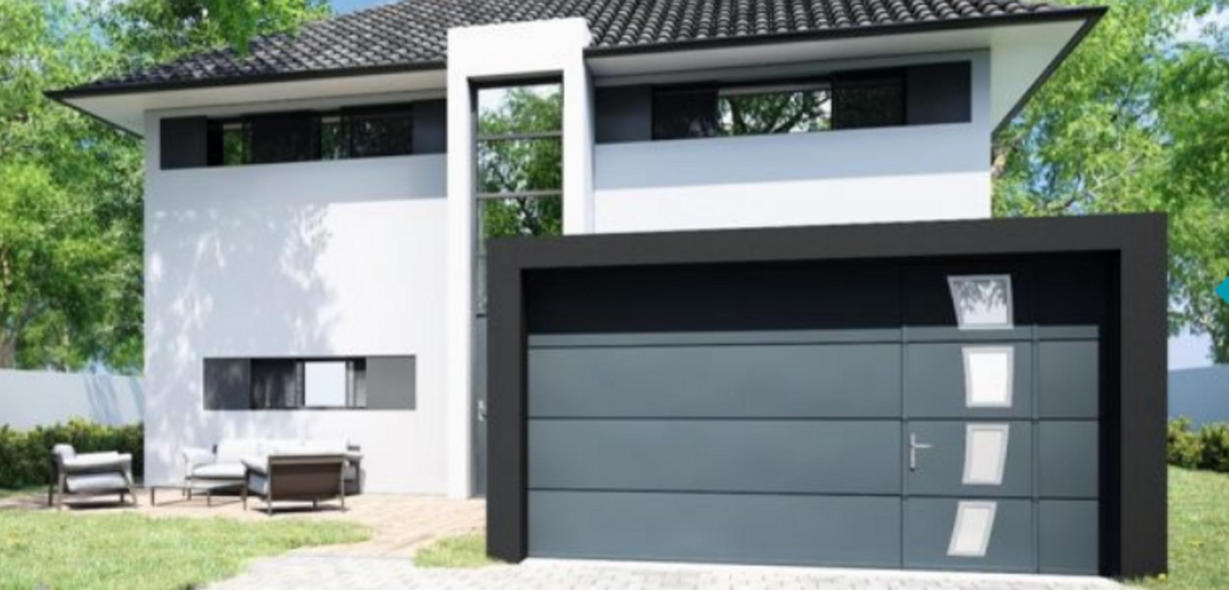 Portes de garage Gypass chez ARMOR PVC