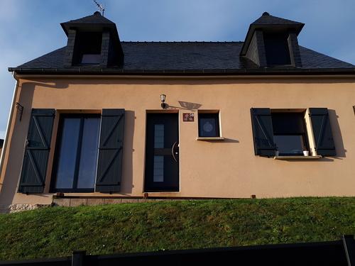 Rénovation fenêtres et porte-fenêtre alu - Caudan - 56