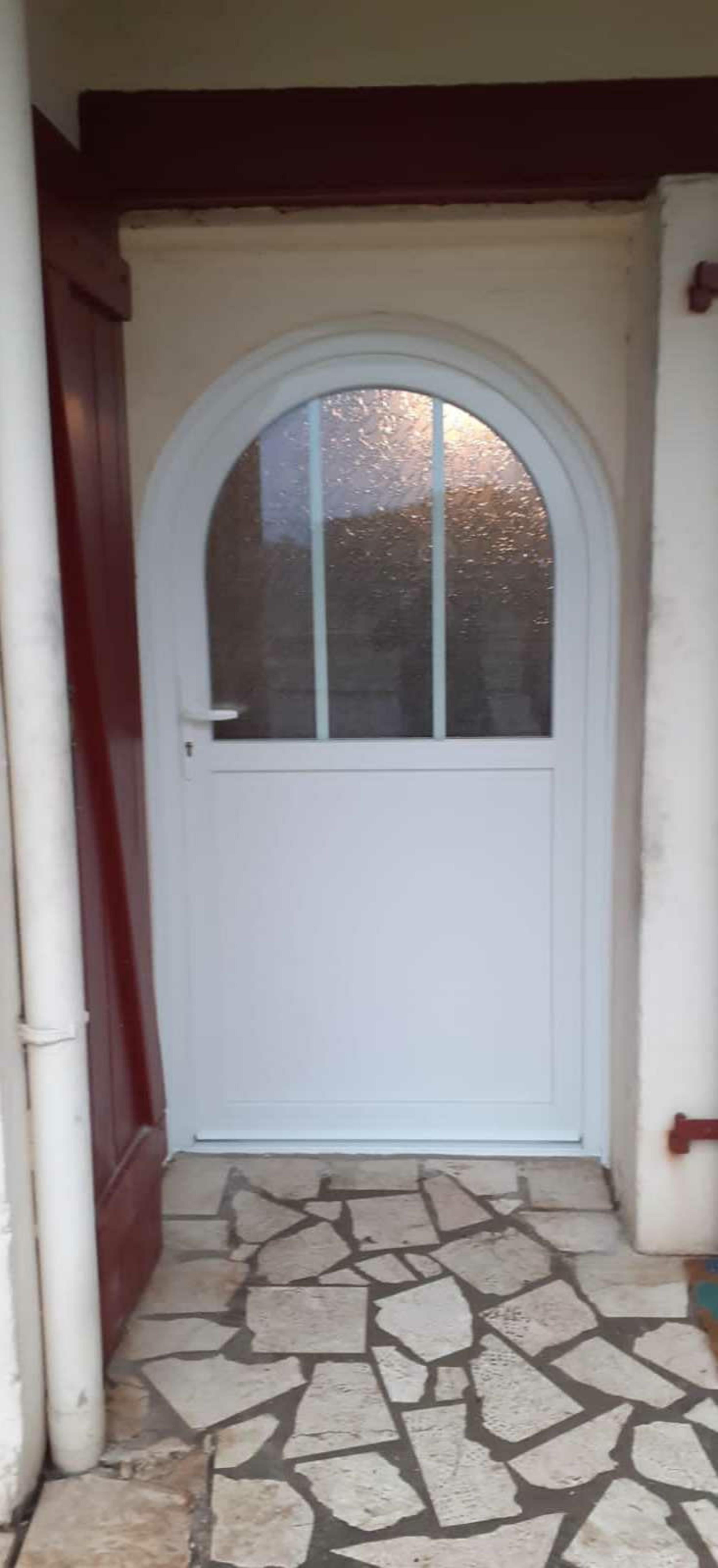 Rénovation Porte d''entrée PVC - maison centre ville - Lorient