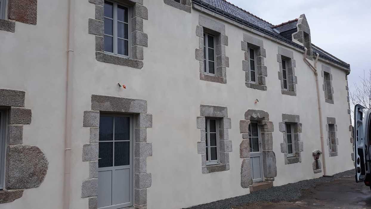 Rénovation menuiseries mixtes avec petit bois - Quistinic - menuiseriesboisaluposesurquistinic