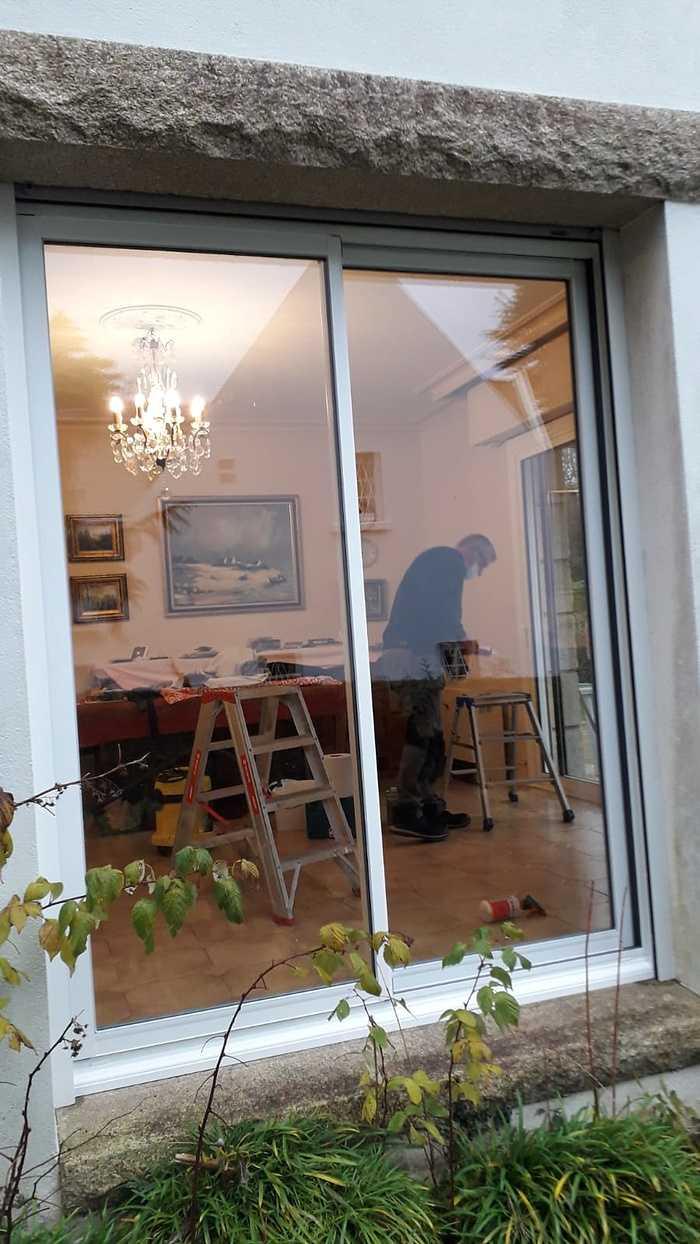 Rénovation baie coulissante 2 vantaux alu- Guidel aprescoulissantaluposesurguidel5