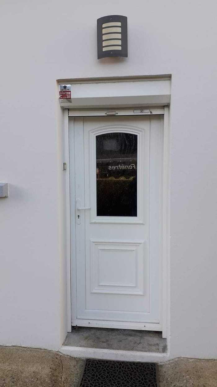 Avant/aprés : porte d''entrée avec insert granit - Queven photo-2021-04-25-16-26-34