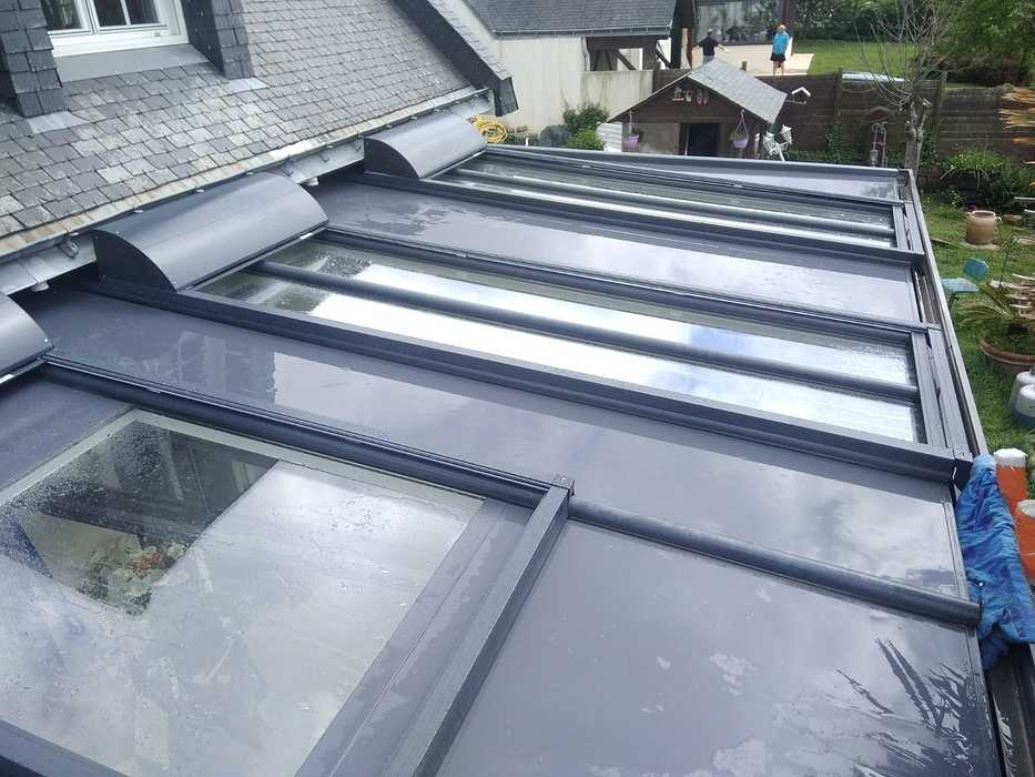 Volets de protection solaire pour véranda - ROLAX de Bubendorff 0