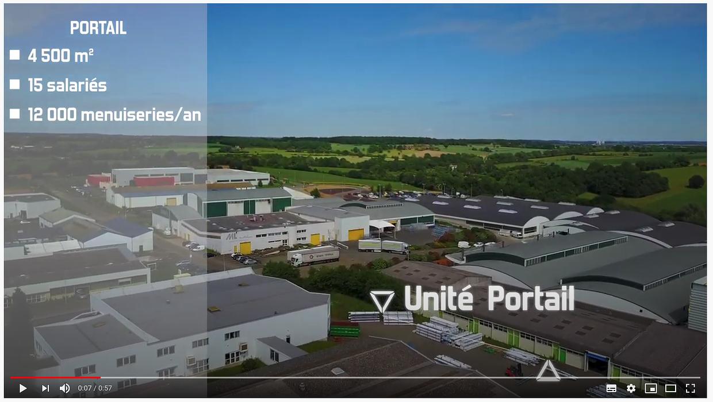 Des portails sur-mesure fabriqués en France - Art et Fenêtres en vidéo 0