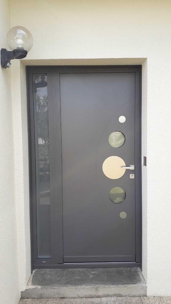 Installation d''une porte d''entrée - Hennebont (56) 0