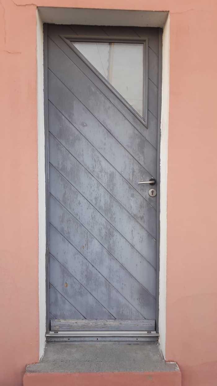 Porte d''entrée alu et verre sablé : renovation img-20200901-wa0006