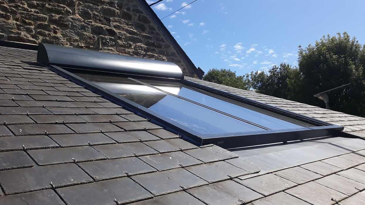 Protection solaire de véranda et velux - Quimperlé 0